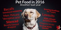 So many things happened this year in our battle for safe (and legal) pet food. Here's a year end review…
