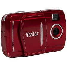 Vivitar LCD Fixed Zoom Digital Camera, Photos and Videos - Red Top Deals, Best Deals, Camera Deals, Digital Camera, Online Price, Free Shipping, Red, Blog, Ebay