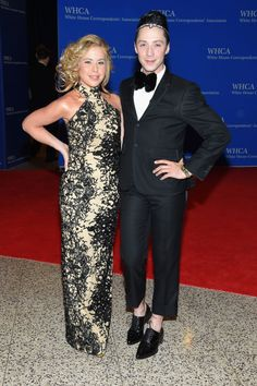 Tara Lipinski and Johnny Weir. See what all the celebrities, including Chrissy Teigen and Martha Stewart, wore at the White House Press Correspondents' Dinner.