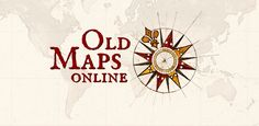 The easy-to-use getaway to historical maps in libraries around the world. Some of these would look really cool printed out and framed