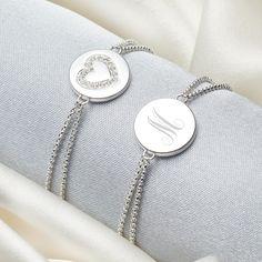 Flower Girl's 'Elodie' White Heart Bracelet WsbvZ