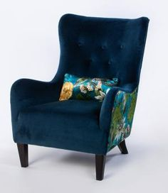 [New] The 10 Best Home Decor (with Pictures) - We have some fabulous new statement chairs in our furniture section online. Make a statement inject some colour and bring some boldness to your home decor! Reupholster Furniture, Furniture Upholstery, Upholstered Chairs, Chair Upholstery Fabric, Chair Cushions, Wingback Chairs, Sofa Chair, Balcony Table And Chairs, Vintage Chairs