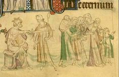 Image of the Queen Mary Psalter, c.1310-20. Royal 2 B VII f. 40v.