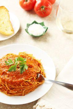 Caramelized Herb Tomato Sauce - Vegan
