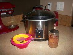 Crockpot Oatmeal:  I love the idea of waking up to hot oatmeal!