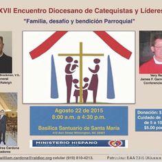 """XVII Encuentro Diocesano de Catequistas y líderes: """"Familia, Desafío y Bendición parroquial"""" #encuentro17raleigh (null) Made with Flipagram - http://flipagram.com/f/b2EJNGfaQt"""
