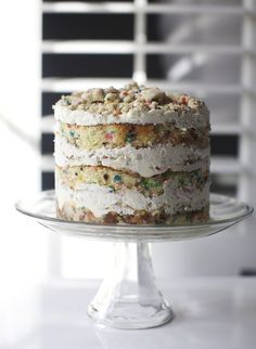 Christina Tosi's Momofuku Milk Bar birthday cake