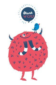 Monsters wink best! Birds sit on monsters best!  greg abbott
