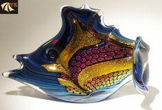 Manufacture Colorful Murano Glass Fish
