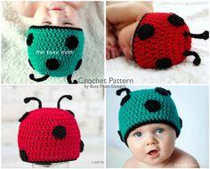 Crochet Pattern - Ladybug / Bug Beanie