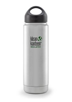 Our Classic Insulated Water Bottle keeps drinks hot for 20 hours & iced for 50 hours. Our most popular insulated stainless steel water bottle. Klean Kanteen Insulated, Insulated Water Bottle, Luggage Accessories, Bug Out Bag, Stainless Steel Bottle, Consumer Products, Food Containers, Canisters, Flask