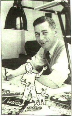 Tintin And Herge! Aline