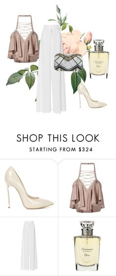 """""""Untitled #53"""" by deslightwood ❤ liked on Polyvore featuring Casadei, Balmain, BY. Bonnie Young, Christian Dior and Miss Selfridge"""