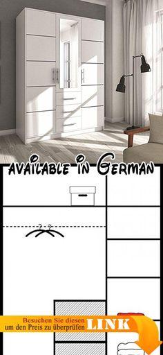 B0748BCN3Y  Kleiderschrank mit Spiegel Geodi Elegante und Modernes
