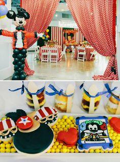 0921da376 Dazzling Mickey   Minnie Circus Birthday Party
