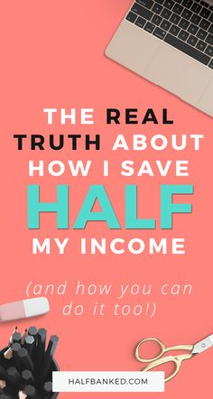 It's 100% possible to save half your income - but you need a few things in place first. Here's exactly how you can do it yourself, based on the lessons I've learned doing it! via @halfbanked