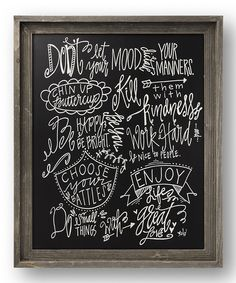 'Rules to Live By' Barn Wall Décor