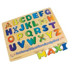 Sound Puzzle w-Braille Pieces- Talking Alphabet