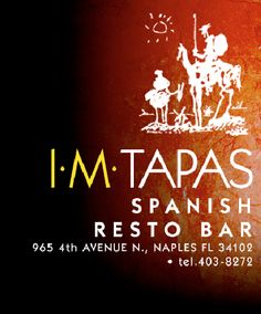 IM Tapas Spanish Resto Bar - Naples, Florida | cute little bar/restaurant that had good tasty food geat service and a fun wine list.