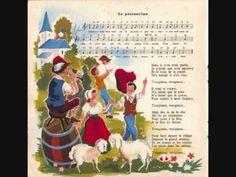Le pastouriau (Quand j'étais chez mon père) - Les Quatre Barbus - YouTube