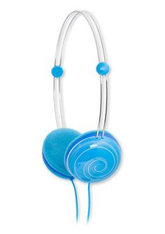 Animatone headphones feature volume-limiting speakers that let kids enjoy their movies and music safely.