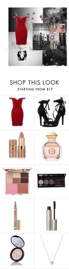 """Outfit# 95"" by lizzy33652 ❤ liked on Polyvore featuring Schutz, tarte, Tory Burch, Stila, Ilia, Links of London and Marni"