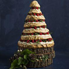 SIBO Christmas meringue tree