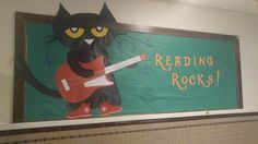 Pete the Cat bulletin board