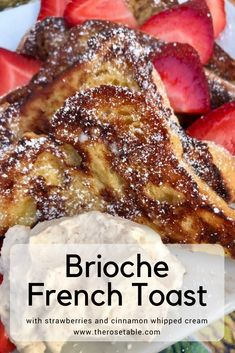 Learn how to make perfect Brioche French Toast! This breakfast recipe is so simple that you'll want to make it again and again.
