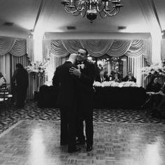 Their first dance | Real Wedding: Gary Ireland and Gilbert Archuleta | Photo by: James Moes | Seattle Met Bride and Groom W/S 13