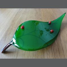 David Stephens : Ladybird Leaf : The Glass Prize