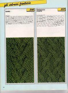 lo spazio di lilla: Collezione punti ai ferri 29 / Knitting stitches collection 29