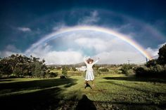 Life is like a rainbow Beautiful and untouchable...