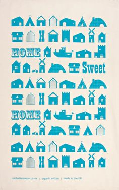 Home, tea towel!