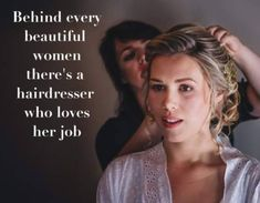 Hairdresser Quotes, Fringes, Bridal Hair, Love Her, Beautiful Women, Bridesmaid, Flowers, Wedding, Hairdressing Quotes