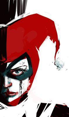 Batman la série animée Harley Quinn Buste Noir /& Blanc NYCC 2015 Vendeur Britannique