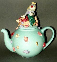 Collectible Teapot Tea Pot ★ Bugs Bunny Mermaid ★★ Le 300 ★★ Laraine Eggleston   eBay