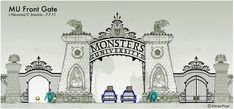 Monsters University (2013) Production Design by Ricky Nierva