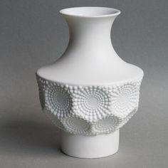 Kaiser Op Art Vase Manfred Frey