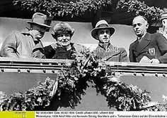 Adolf Hitler, Hermann Göring, Joseph Goebbels and another man attending the 1936 Winter Olympics Joseph Goebbels, The Third Reich, Another Man, Socialism, Winter Olympics, Luftwaffe, World War Two, Troops