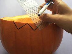 s bibbidi bobbidi boo 3 pumpkin ideas for a magical halloween, Step 4 Draw a fun edge Using your ruler Spice Rack Tower, Diy Spice Rack, Magnetic Spice Racks, Wooden Spice Rack, Pumpkin Crafts, A Pumpkin, Pumpkin Ideas, Storing Spices, Cement Color