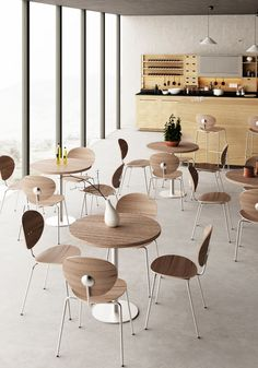 This chair is an exercise in minimalism. Constructed of laminated plywood on a metal frame, the Ovni Chair is inspired by a simple geometric shape – the oval. The oval backrest is mirrored in the oval seat, both delicately curved to offer exceptional comfort. Group Of Companies, Geometric Shapes, Plywood, Minimalism, Dining Chairs, Exercise, Inspired, Studio, Simple