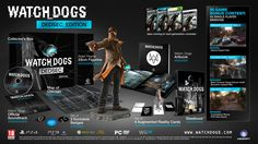 "Ubisoft has just released a video showing the ""unboxing"" of the Watch_Dogs… Dog Trailer, New Trailers, Xbox 360, Playstation, Studio Disney, Gaming Center, Nova, Edition Collector, Chicago Map"