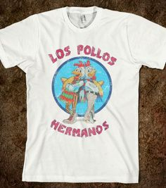 Los Pollos Hermanos (Vintage) - Summer Of Fun - Skreened T-shirts, Organic Shirts, Hoodies, Kids Tees, Baby One-Pieces and Tote Bags