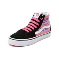 c6f7338b98 Lace up the lovely new Sk8 Hi Skate Shoe from Vans. Designed by the girls