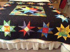 Star quilt by mommomsquilts on Etsy