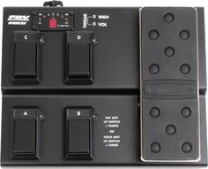 4-channel Footswitch Controller for Line 6 Amps and PODs