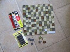 Mosaic Tile Magnets
