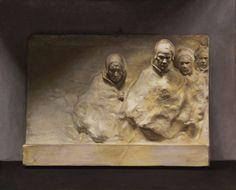 Basorelief Oils by MeWannaLearn on DeviantArt Sculpture Clay, Wall Sculptures, Anatomy Sculpture, Funky Art, Ceramic Figures, Outdoor Sculpture, Figure Painting, New Art, Sculpting