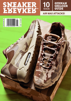 "Sneaker Freaker Germany #10 – Air Max ""Camo Pack"" Cover"